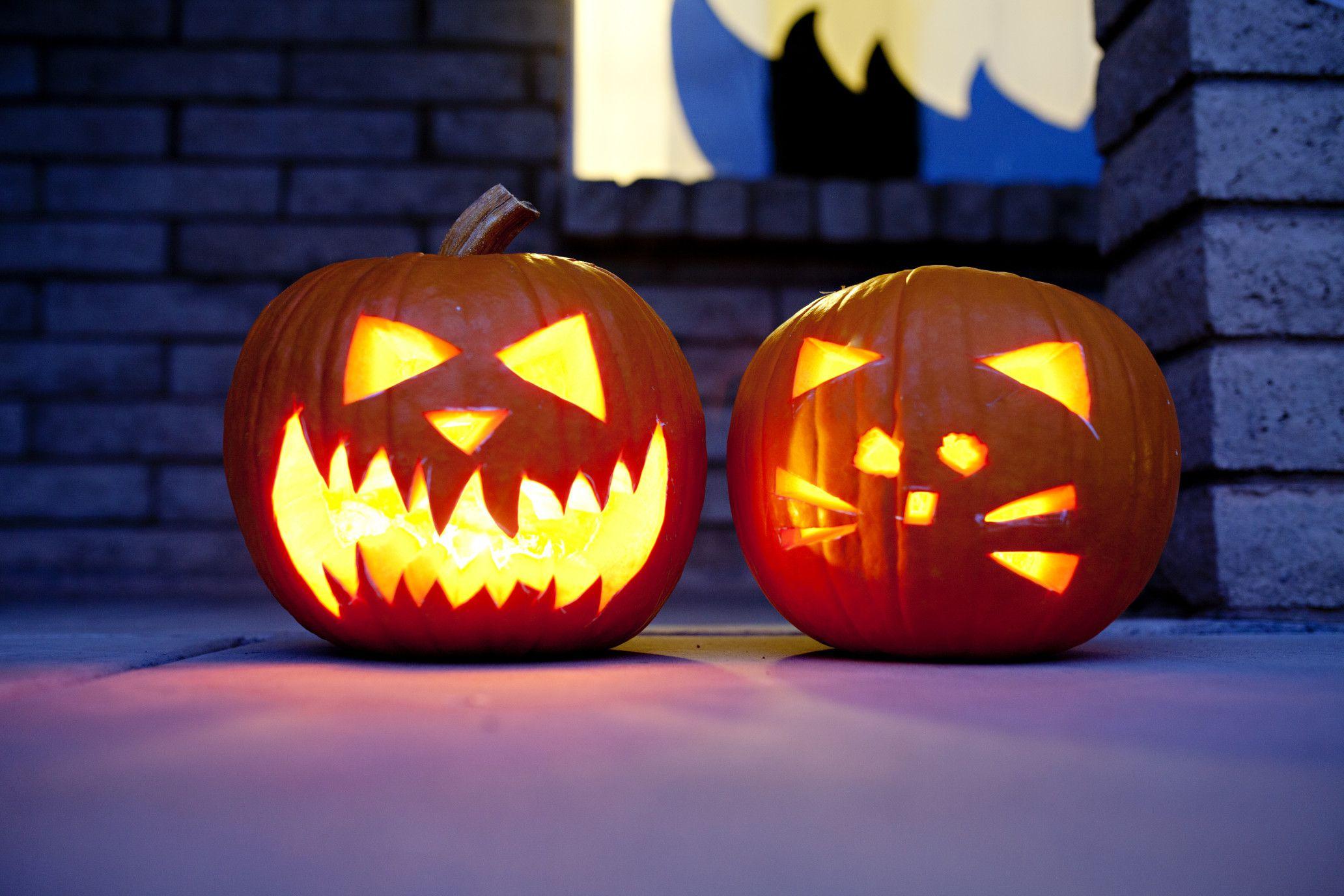 Free Scary Pumpkin Stencils Printable Templates