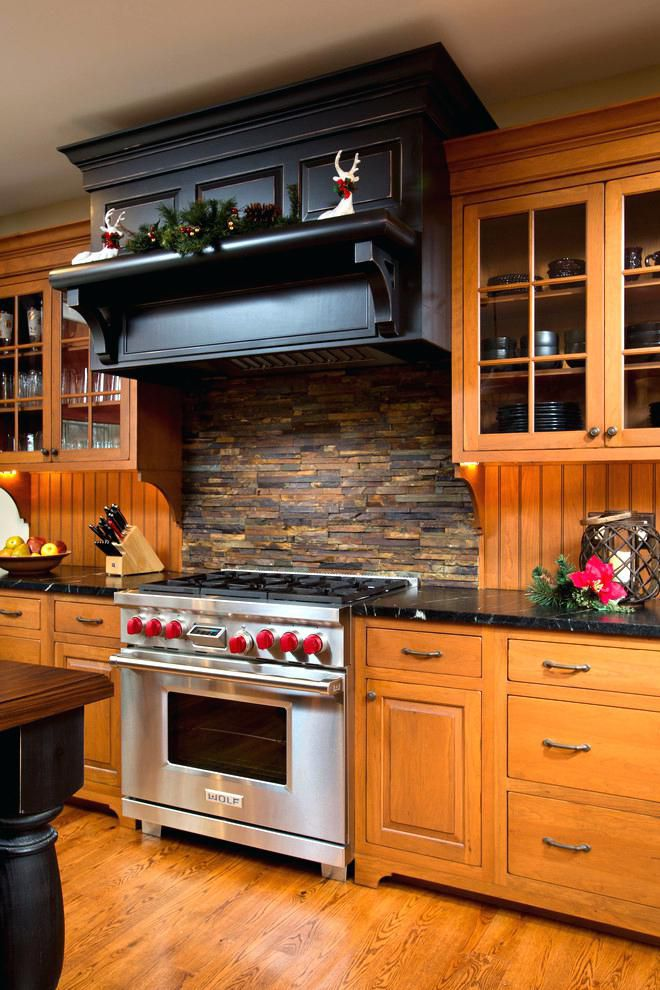 19 Stacked Stone Backsplashes For For Kitchens
