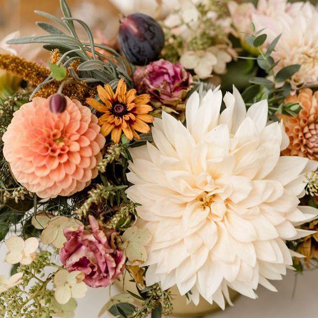 15 Fall Wedding Centerpieces