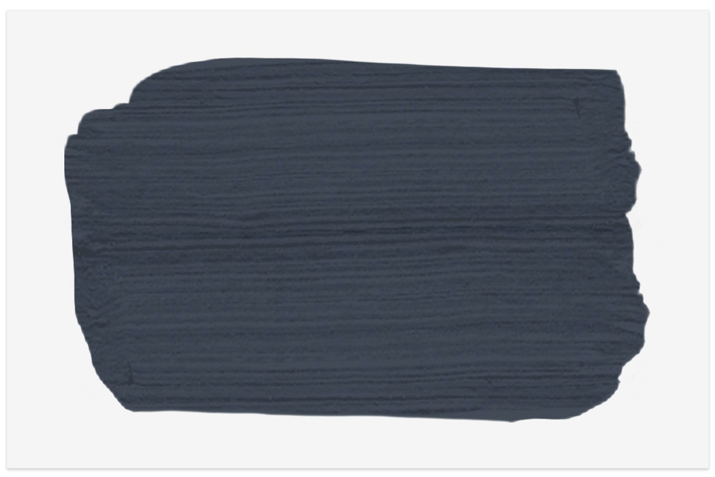 Hale Navy paint swatch from Benjamin Moore