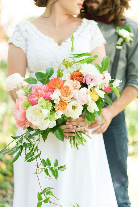 Peony Summer Wedding Bouquet
