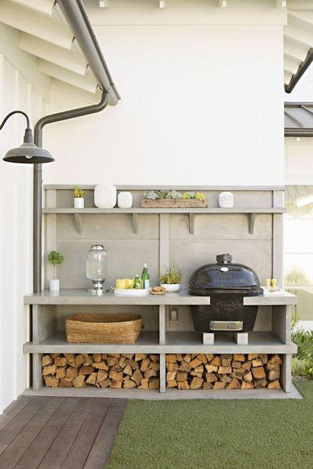 Phenomenal Diy Outdoor Kitchen Ideas Beutiful Home Inspiration Semekurdistantinfo