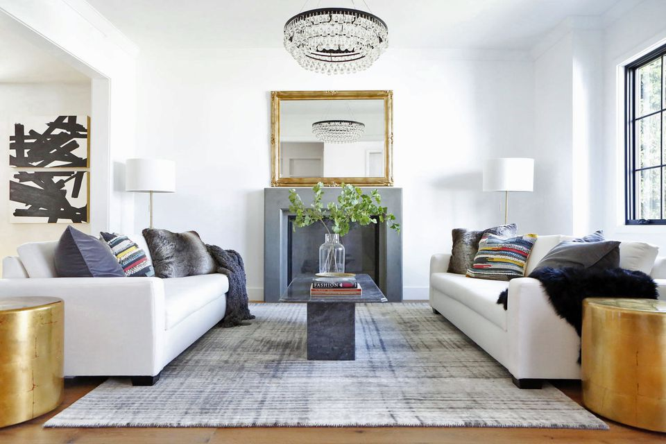 Concrete Fireplace Decor Trends 2018