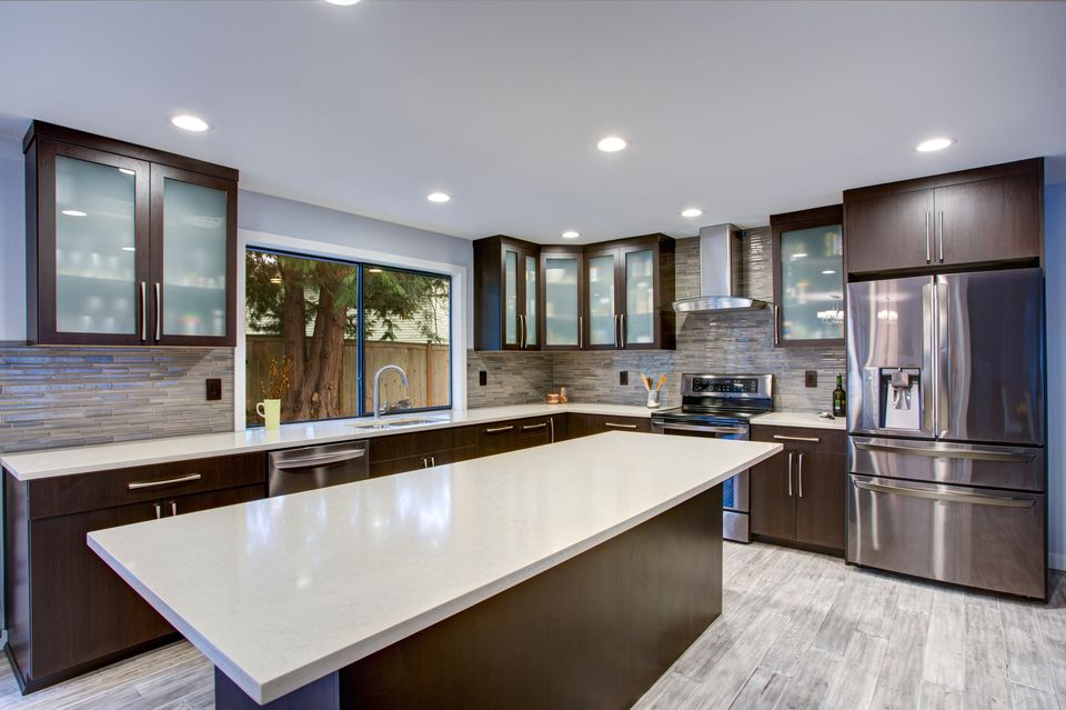 Updated contemporary kitchen