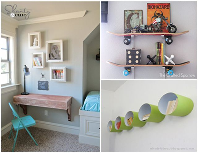 DIY shelf ideas