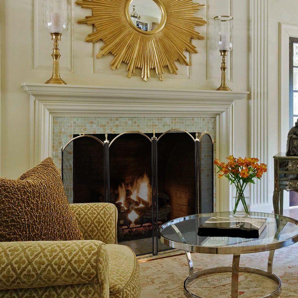 Outstanding The 10 Best Fireplace Screens Of 2019 Interior Design Ideas Helimdqseriescom
