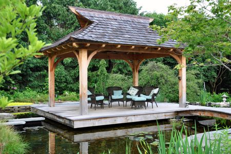 McHale Landscape Design - 27 Gorgeous Gazebo Design Ideas