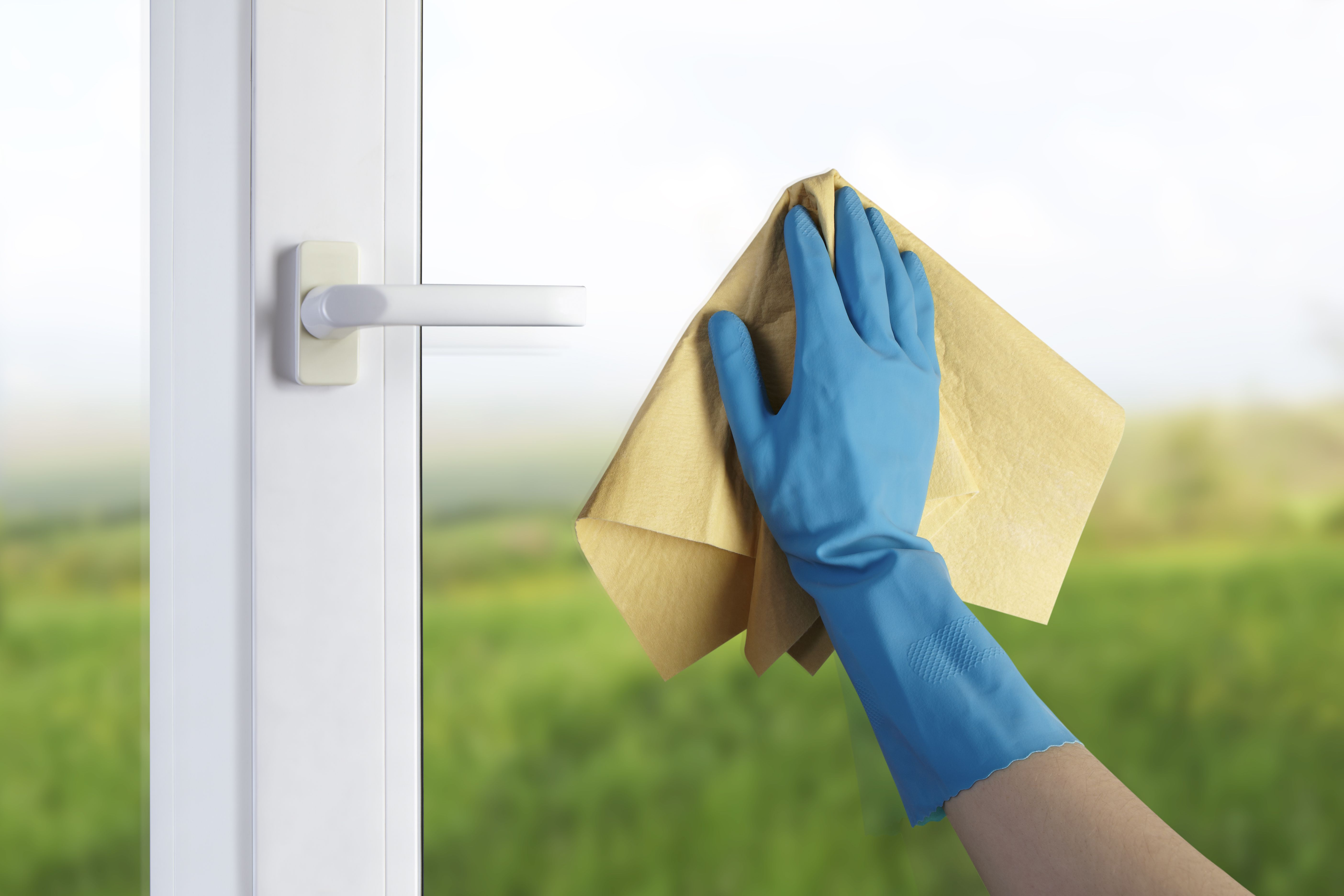 Wash Windows for Spring Cleaning