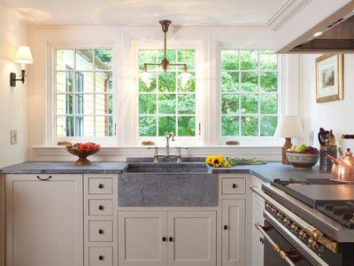 gray soapstone countertop
