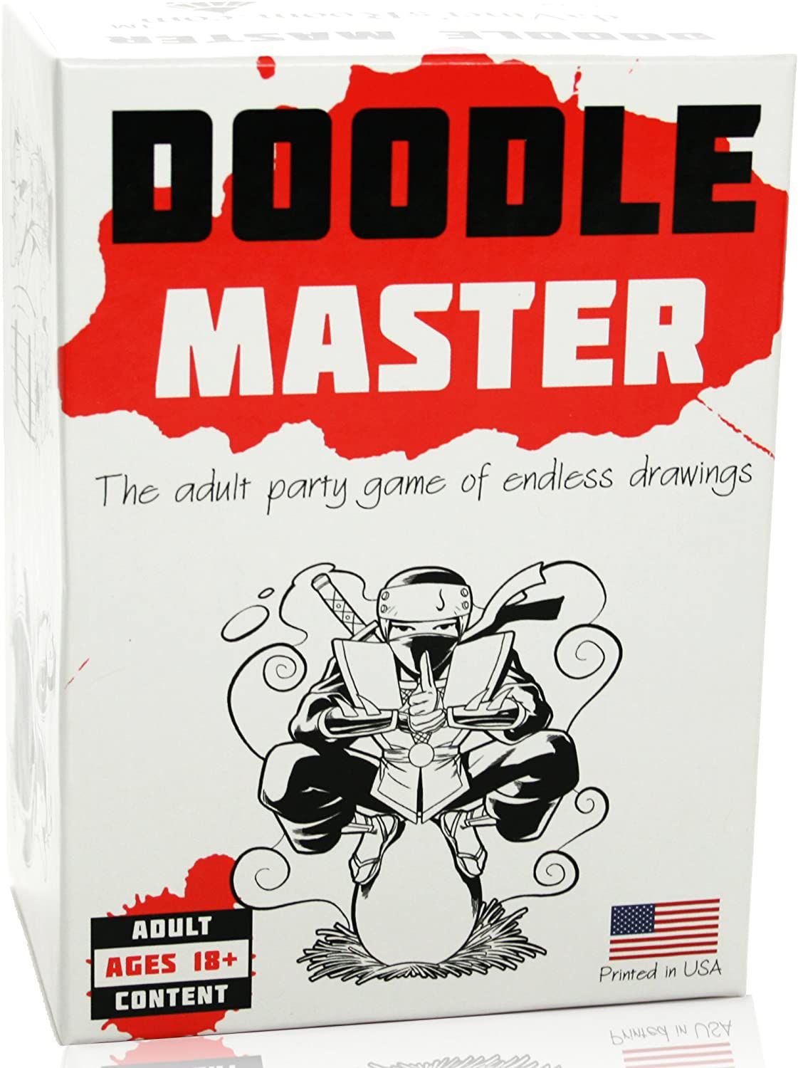 Doodle Master - The Adult Party Game of Endless Drawings