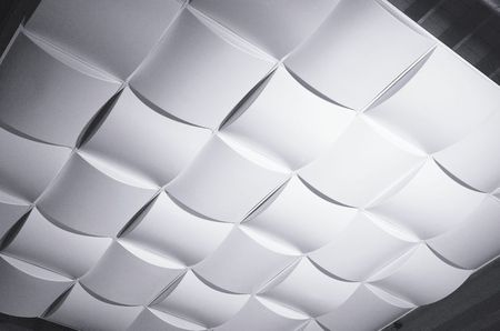 3d drop ceiling panels give home a modern look put these 3d panels in your drop ceiling grid for a startlingly modern look aloadofball Image collections