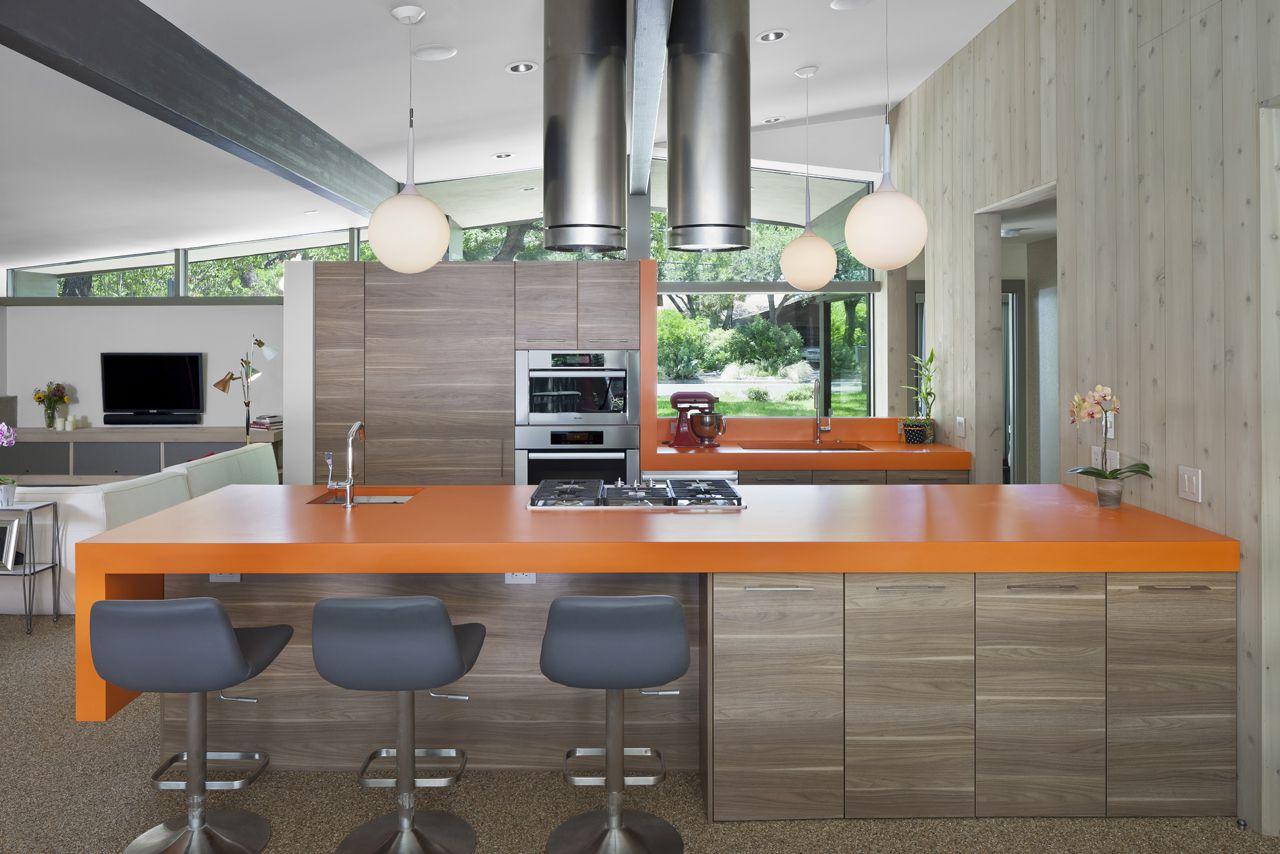 orange laminate kitchen countertops