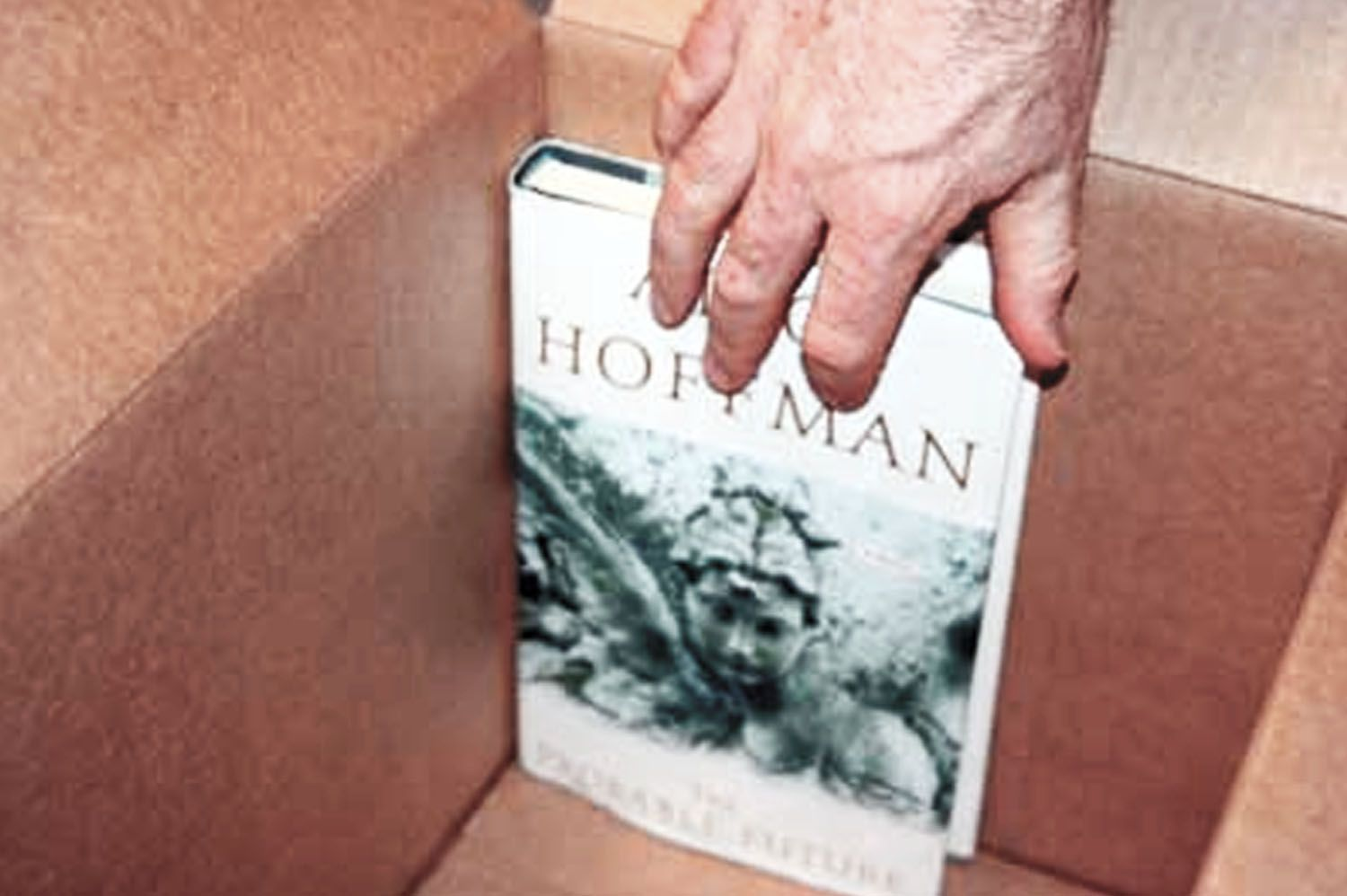Packing hardcover book