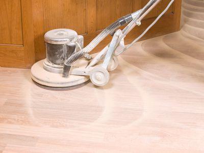 orbital floor sander