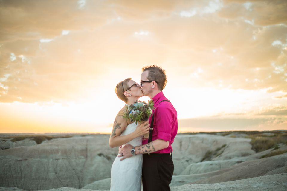Wedding in Badlands National Park