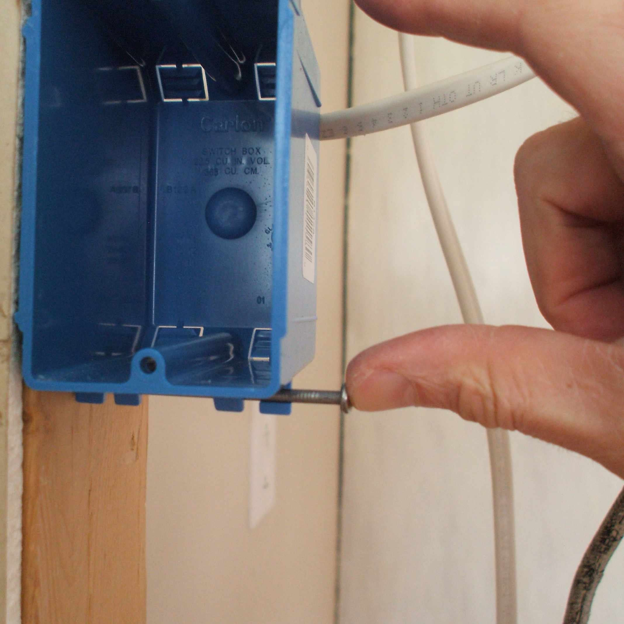 Install Electrical Box