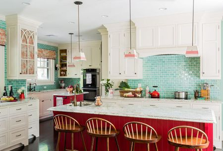 48 Inspiring Red Kitchen Ideas Delectable Red Kitchen Ideas