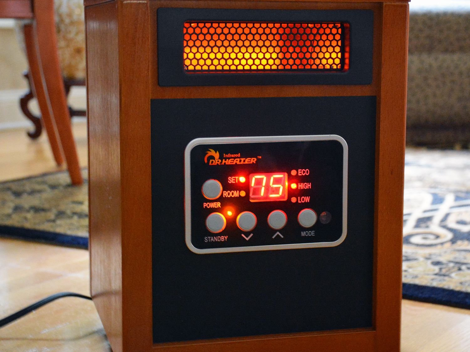 Dr Infrared Heater Portable Space Heater Review