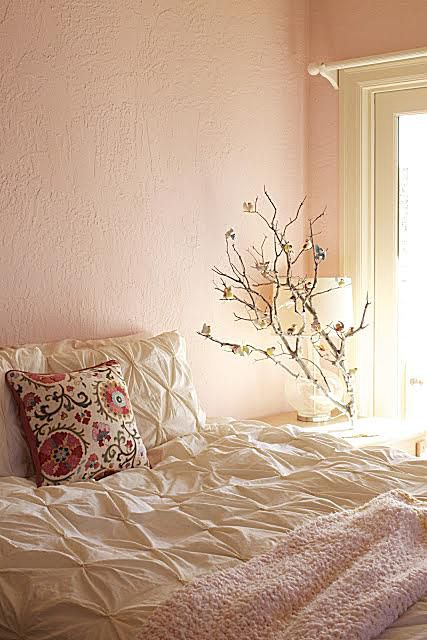 rachel perls hue consulting pink bedroom re model in adventure of a stylist and amateur photographer blog by kelly berg arte styling - Bedroom Color