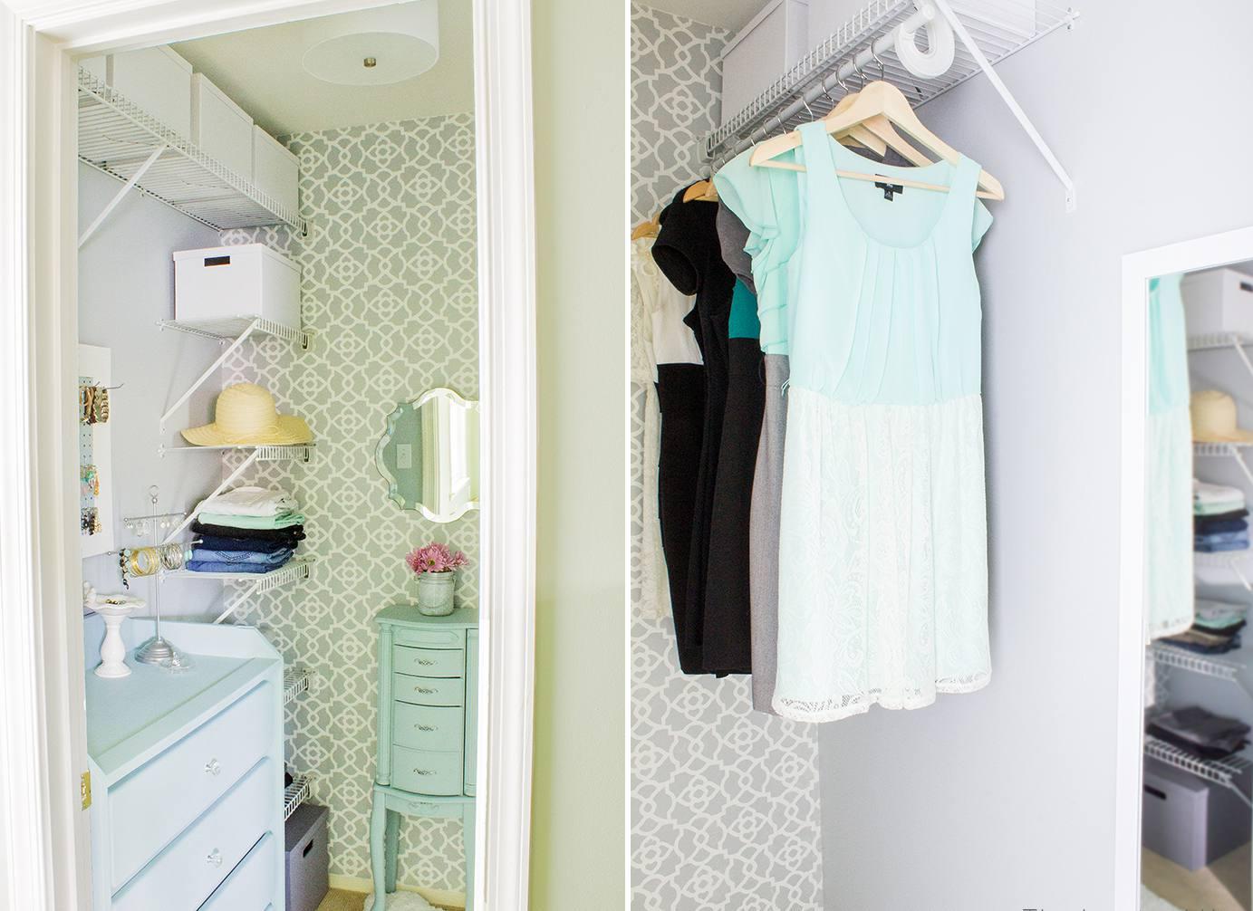 Affordable Closet Transformation