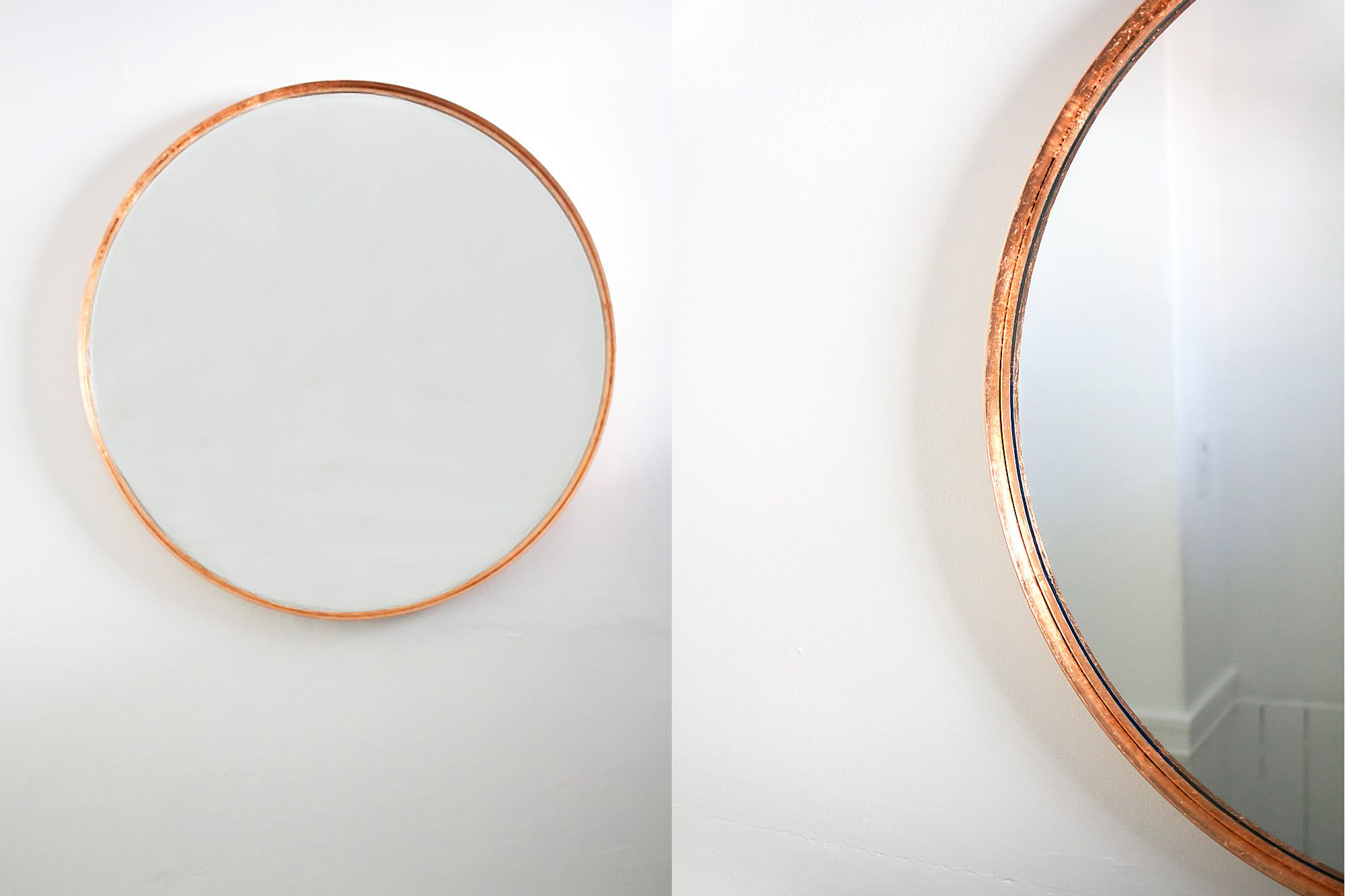 Ikea Hack Faux Copper Entryway Mirror