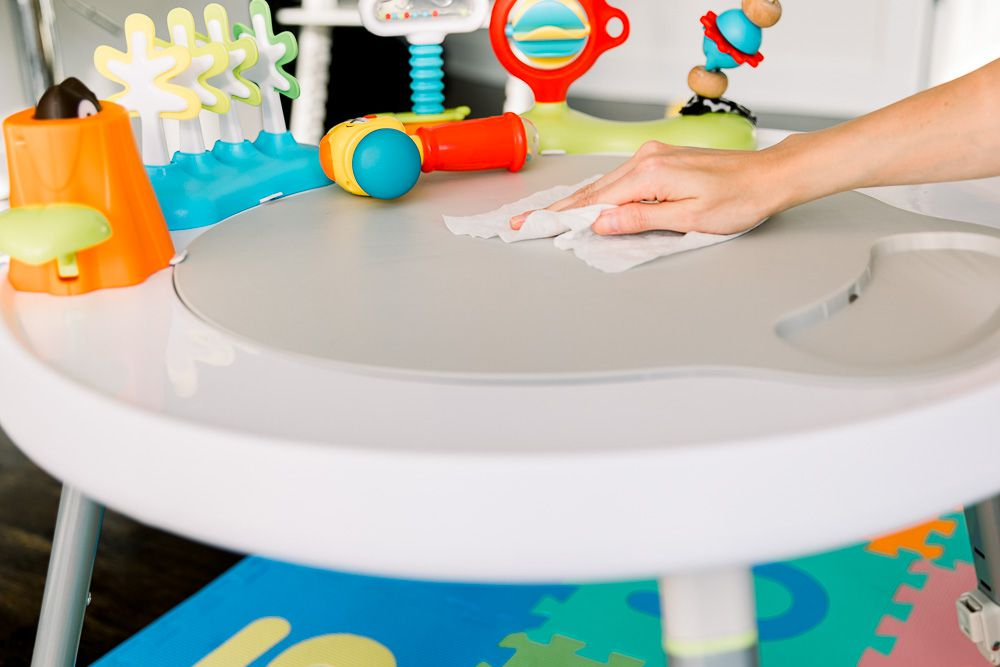 how to sanitize baby toys safely