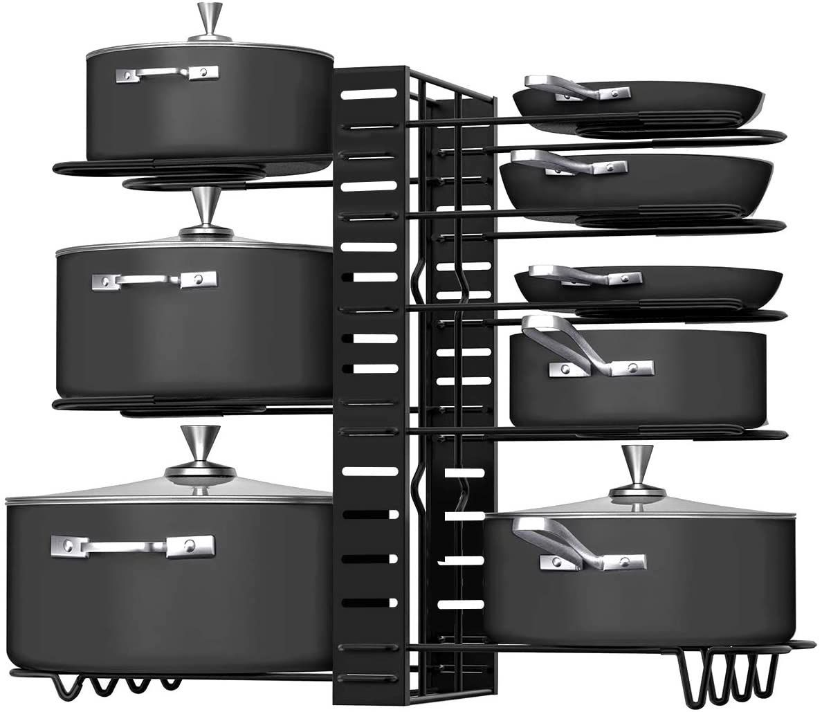 G-TING 8-Tier Pots and Pans Organizer