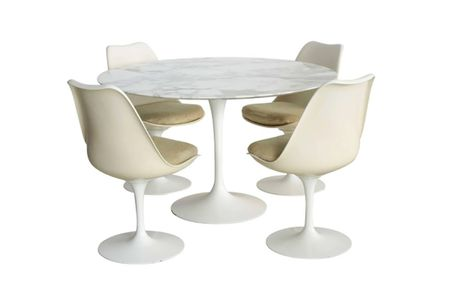 How To Identify A Genuine Saarinen Table - Original saarinen tulip table