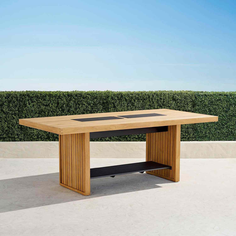 Frontgate Danson Teak Dining Table