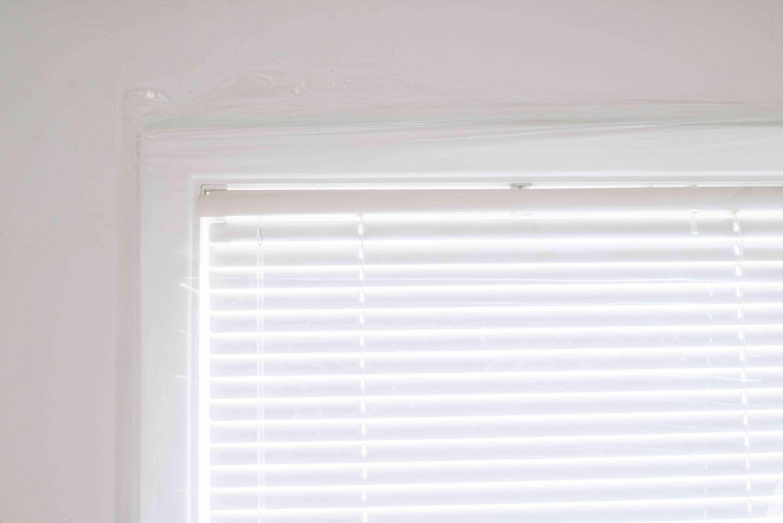 window film insulation around window