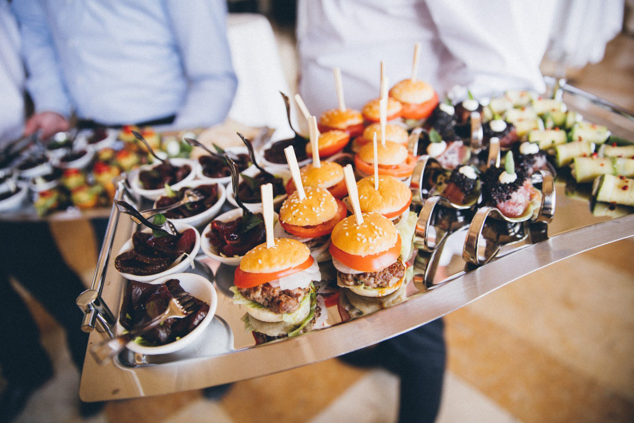 Miniature Food Catering Ideas For Weddings