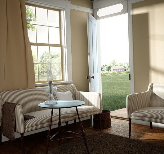 color de sala beige