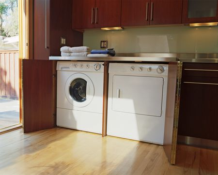 Finding A Space For A Home Laundry Area