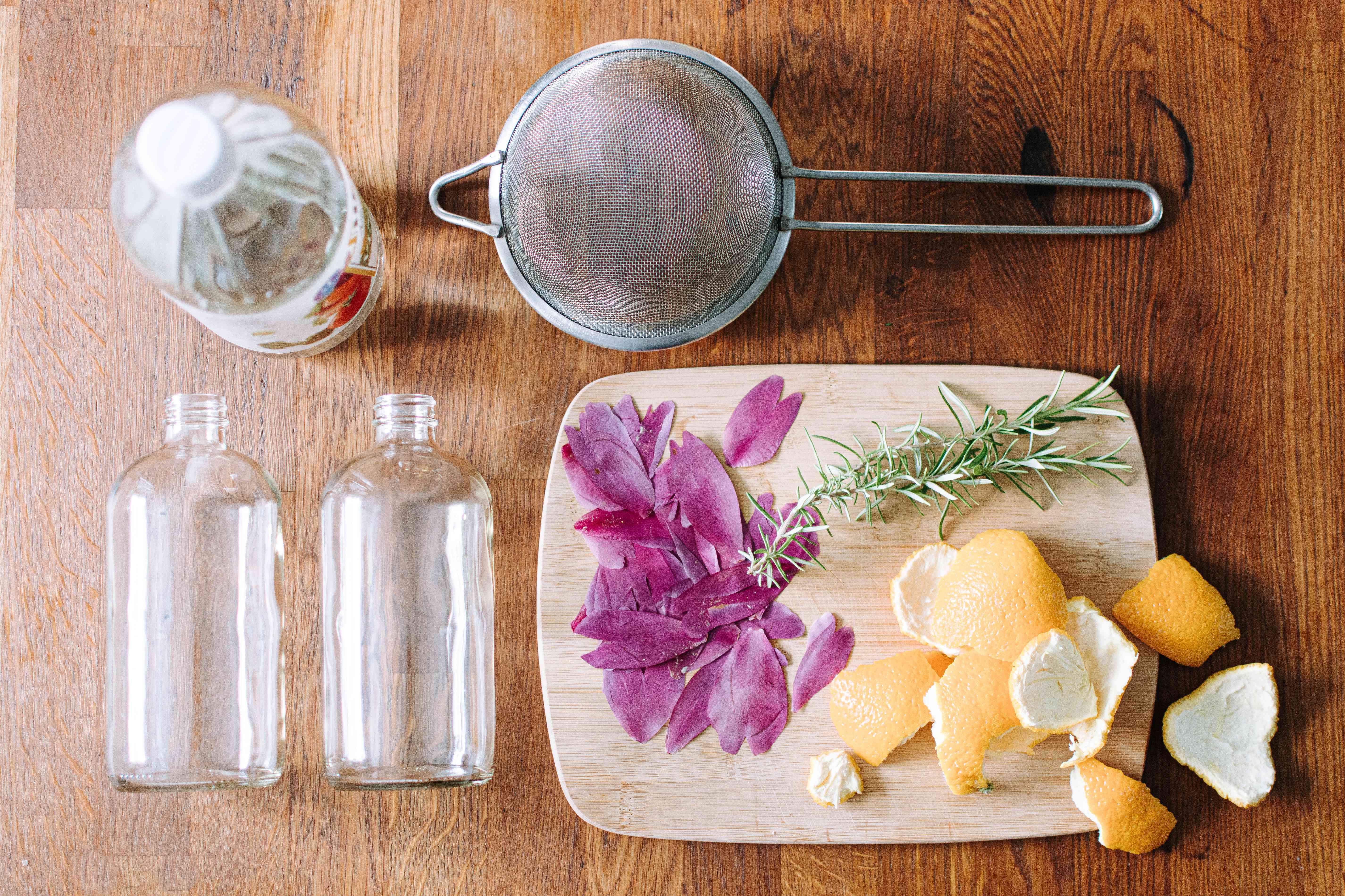 ingredientes para hacer un ambientador de bricolaje