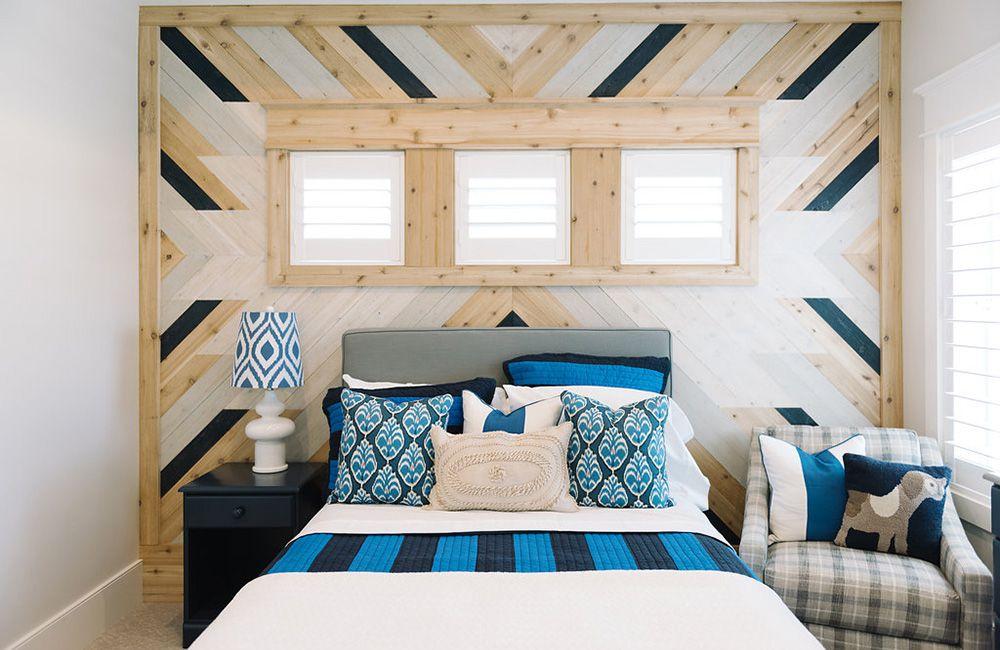 Paredes rústicas de paneles de madera