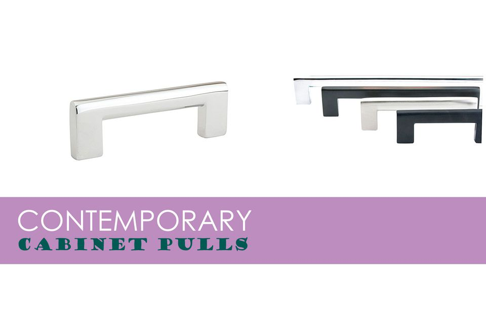 Horizontal Cabinet Hardware for Contemporary Kitchens