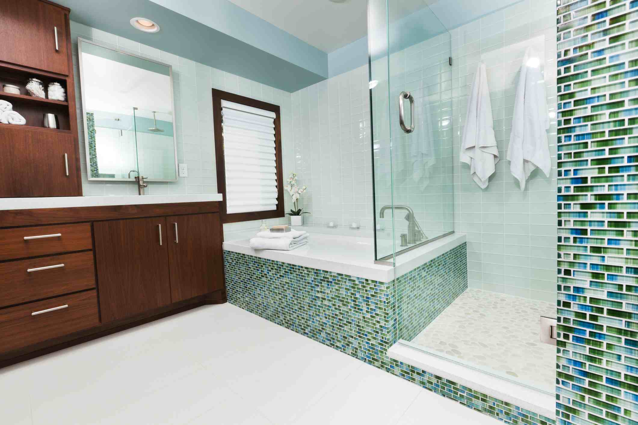 Bathroom Wall Tile Guide From Porcelain to Mosaics