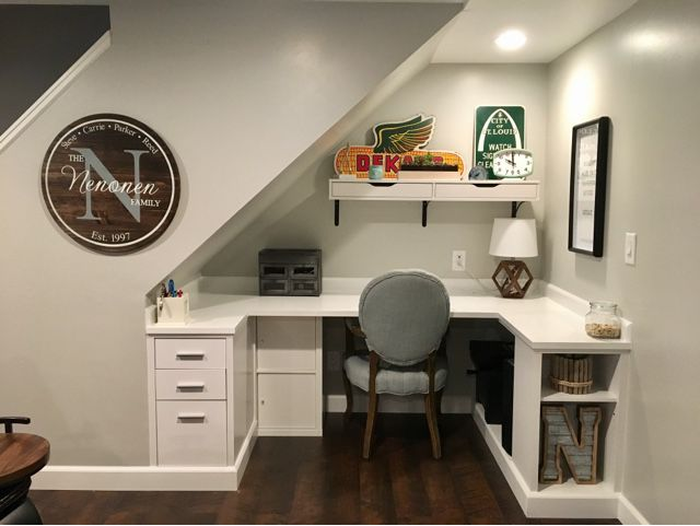 Small Home Office with Two Desks