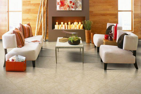 ceramic den flooring