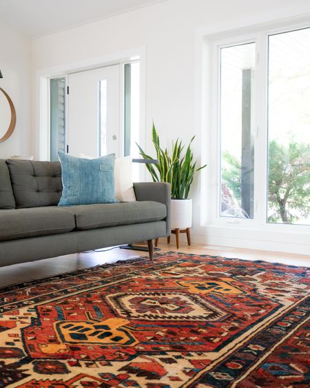 How To Bring A Vintage Rug Into Your Home Decor