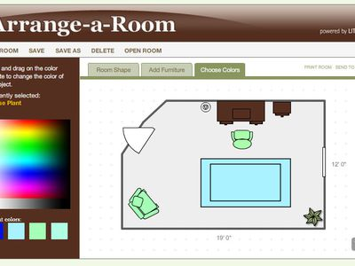 Plan Your Redesign With The Free Arrange A Room Software Interior Decorating