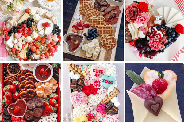six Valentine's Day charcuterie boards from Instagram