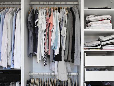 6 Easy Ways To Maximize Storage E In A Small Closet Closets Organization
