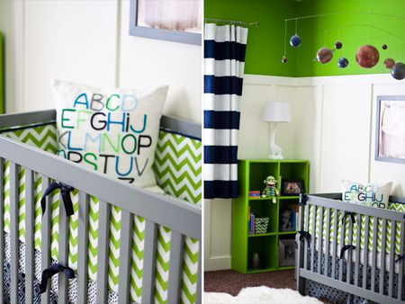10 Ideas For Navy Nurseries
