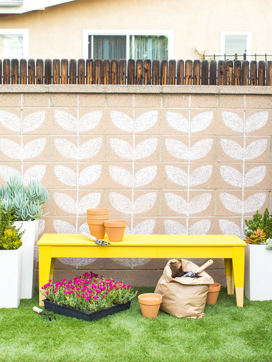 DIY Ikea Outdoor Bench Makeover