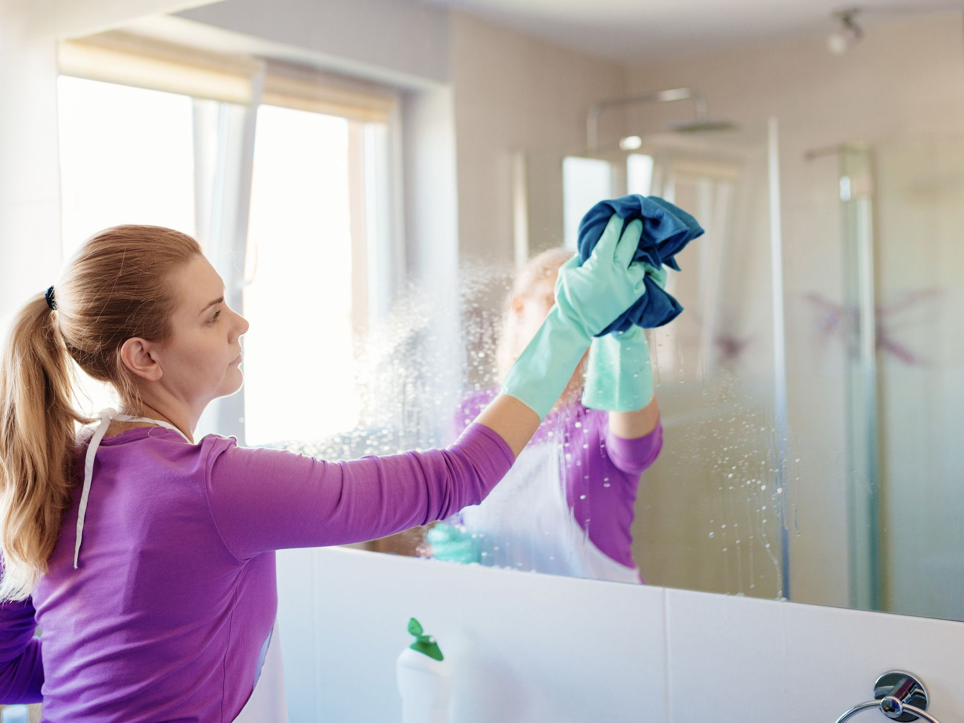 How To Give Your Bathroom A Clean Makeover