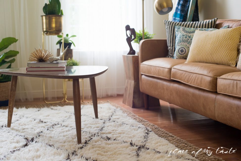thick white moroccan rug