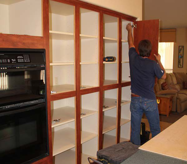 Before And After Pictures Refacing Cabinets: How Cabinet Refacing Works: The Basic Process