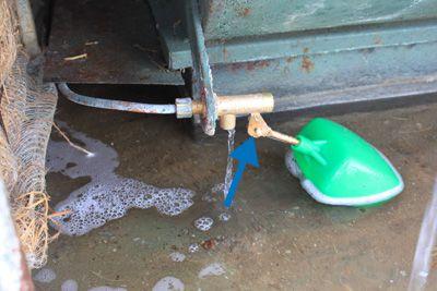 Ajuste del nivel de agua de la válvula de flotador