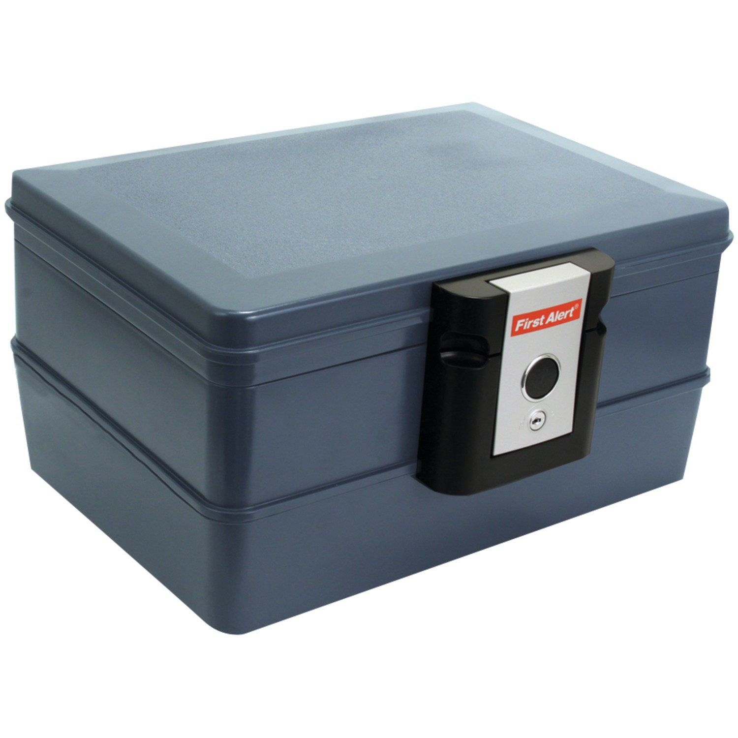 First Alert 2030f 0 39 Cubic Feet Fire And Water Safe Grey